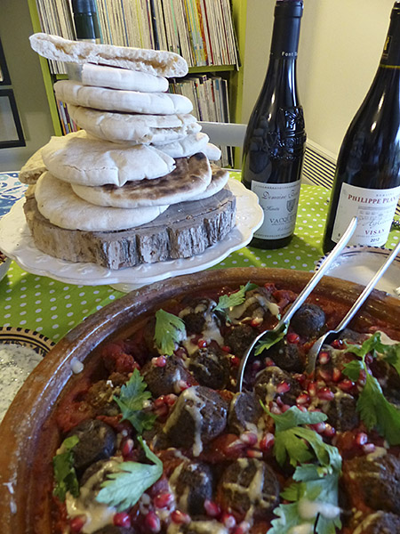 pitas et falafels