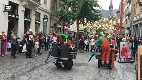 Ambiance tijdens De Langste Dag in Leuven (23/06/2018)