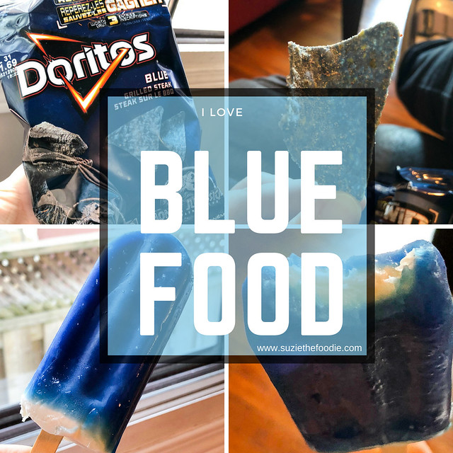 I Love Blue Food And I Don't Care Who Knows It