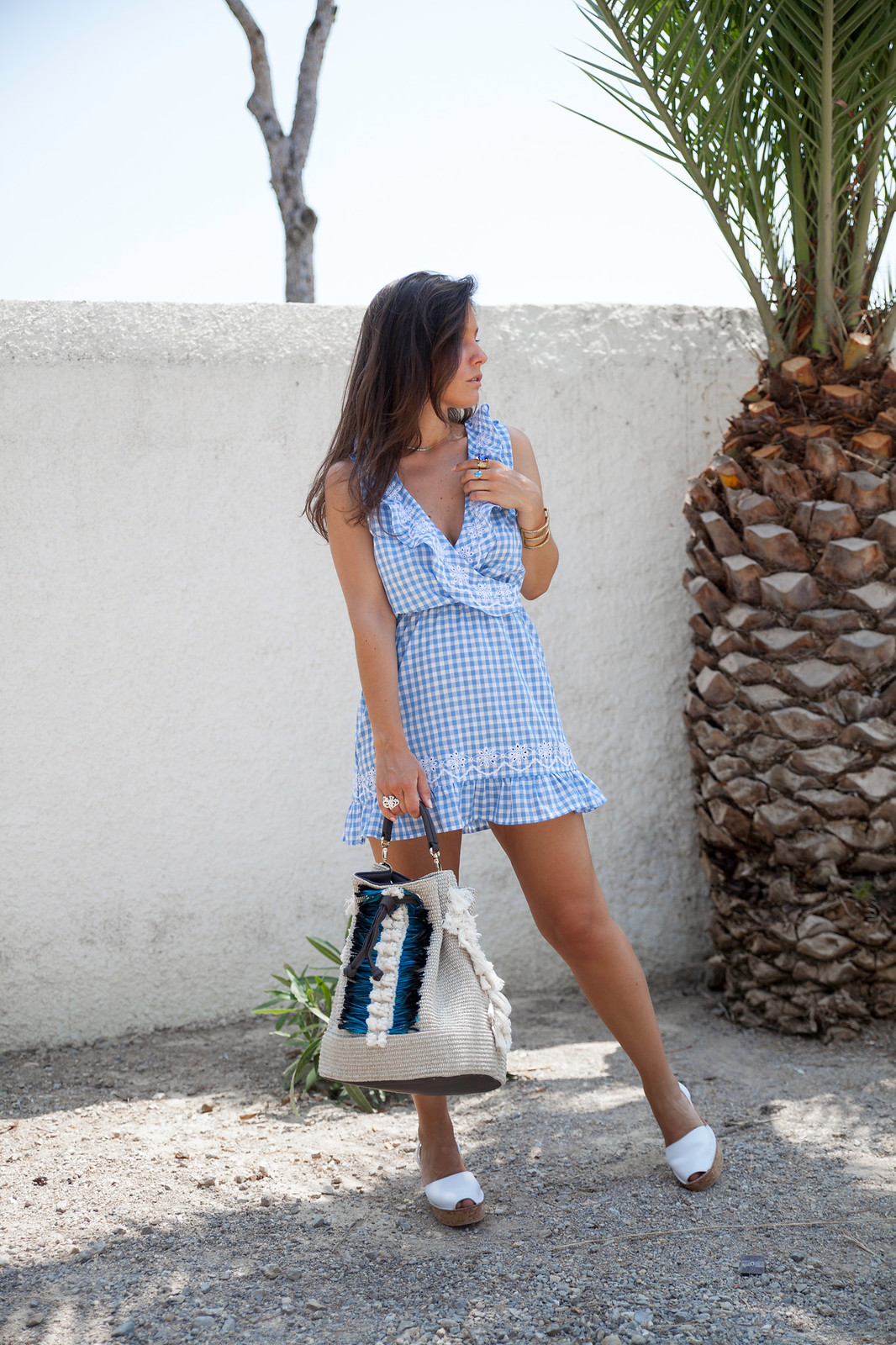 010_Revolve_dress_tularosa_gingham_style_outfit_theguestgirl_influencer_barcelona_spain_style_summer