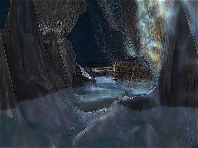 The Waterfall Cafe - Underwater Passage (Sharpened)