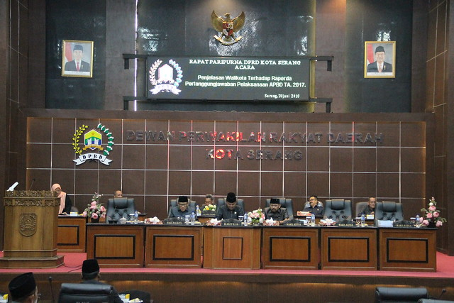 28 Juni 2018 Rapat Paripurna DPRD Kota Serang