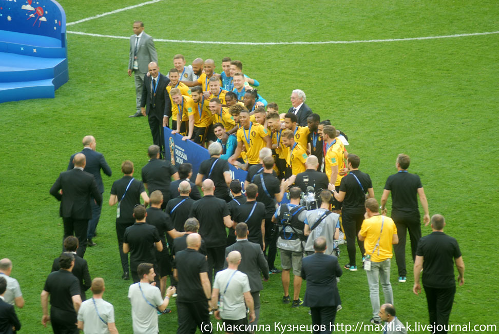 Belgium: 3rd place