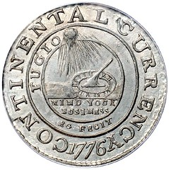 Continental Dollar obverse