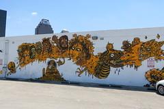 San Antonio - Downtown: Streetart by Dr. Lakra