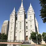 Salt Lake Temple angle