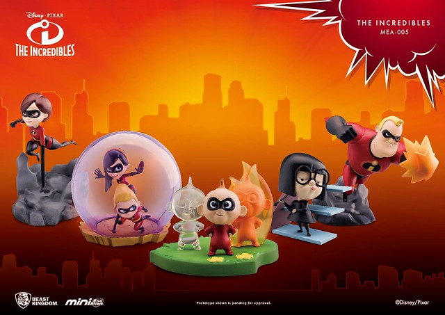 史上最強的一家人再度出擊!! 野獸國 Mini Egg Attack 系列《超人特攻隊2》Incredibles 2 MEA-005