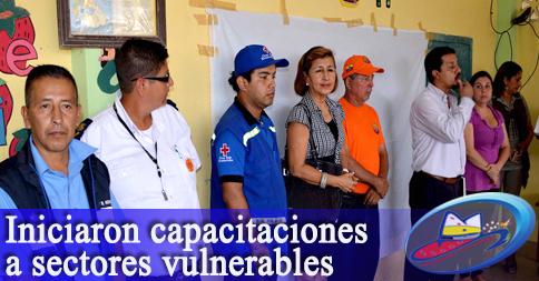 Iniciaron capacitaciones a sectores vulnerables