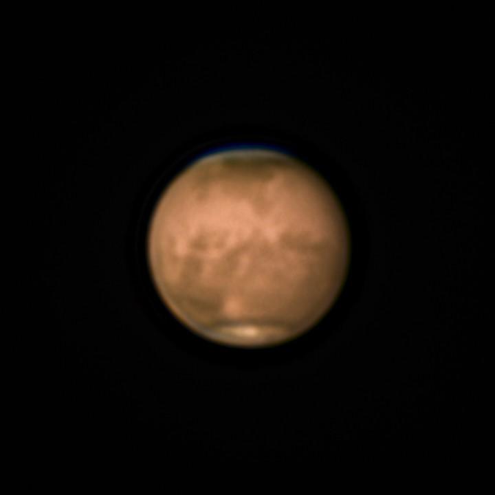火星 (2018/7/20 01:49-01:50) (LRGB)