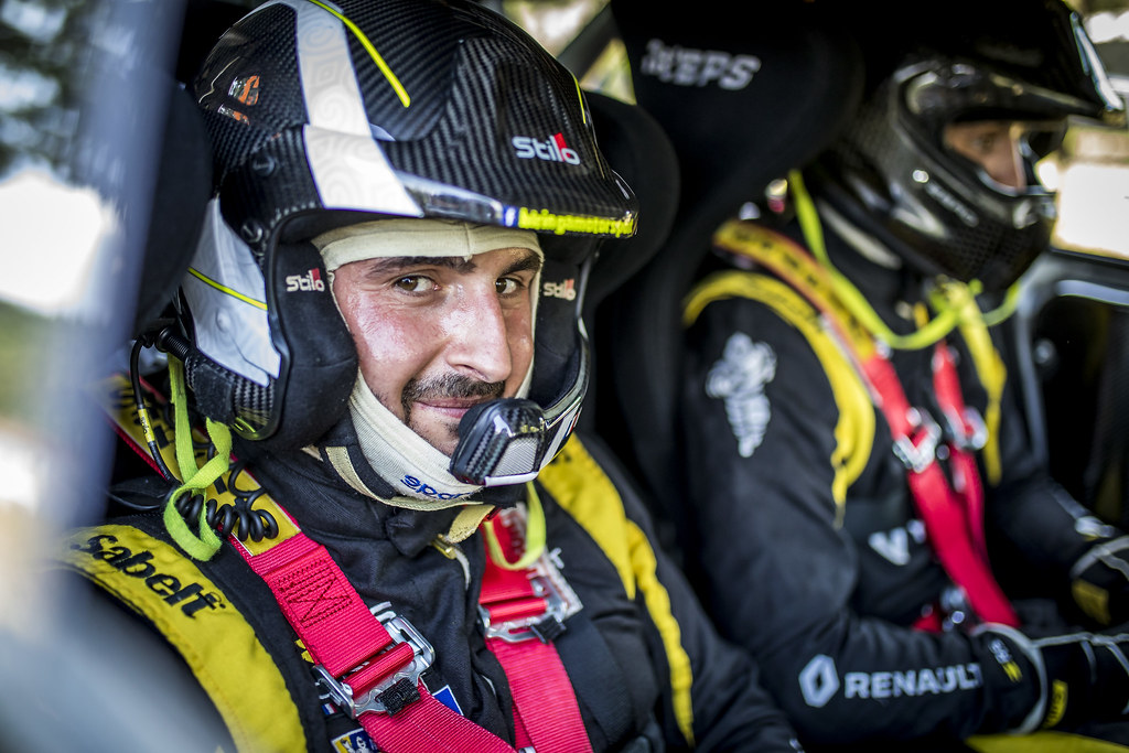 BELLOTTO Victor (fra), Renault Clio during the 2018 European Rally Championship ERC Rally di Roma Capitale,  from july 20 to 22 , at Fiuggi, Italia - Photo Gregory Lenormand / DPPI