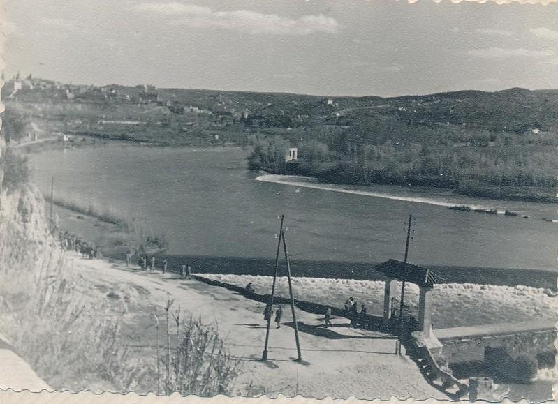 Río Chico en 1962. Fotografía de Julián C.T.