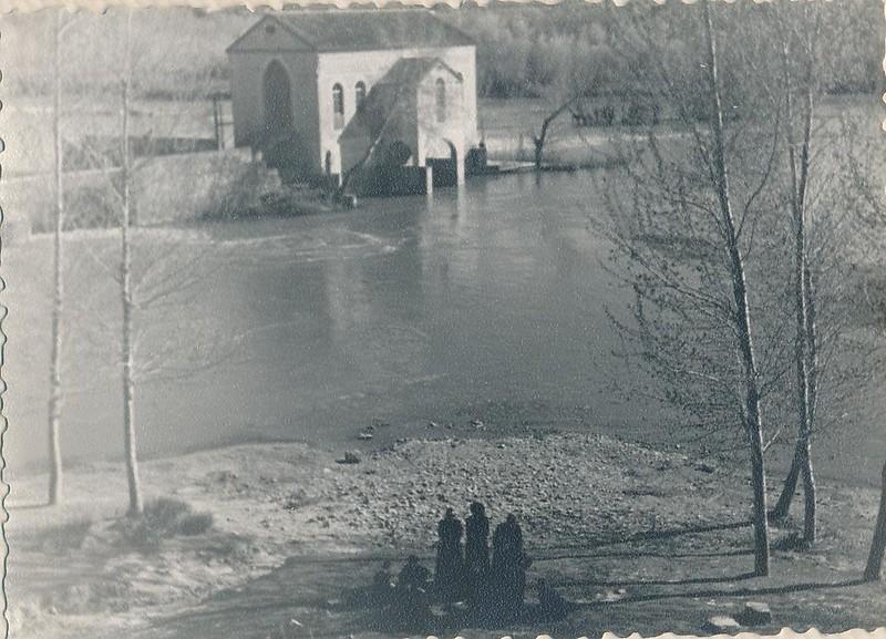 Río Chico hacia 1963. Fotografía de Julián C.T.