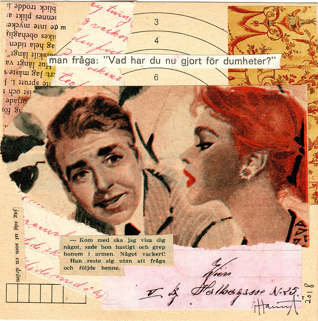 The Romance Trickster - Collage no 124 by iHanna #365somethings2018