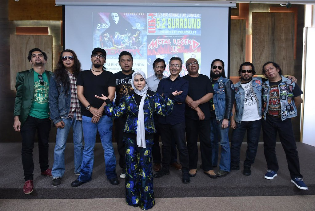 Konsert Rockstars & Konsert Metal Legend II