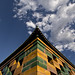 Gold and Green.  Wanchun Pavilion, Jingshan Park, Beijing, China,