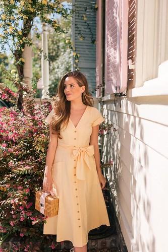 61307d2a1 Vestido com botões na frente: Moda verão 2019 | Inspire 4 What?