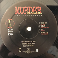 V.A.:MURDER WAS THE CASE(LABEL SIDE-D)