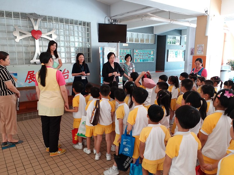 小學實地觀察及體驗活動~參觀天主教聖安德肋小學~愛級(K3)