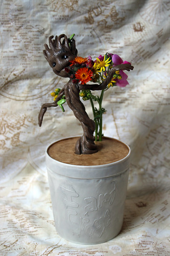 Baby Groot is now a vase