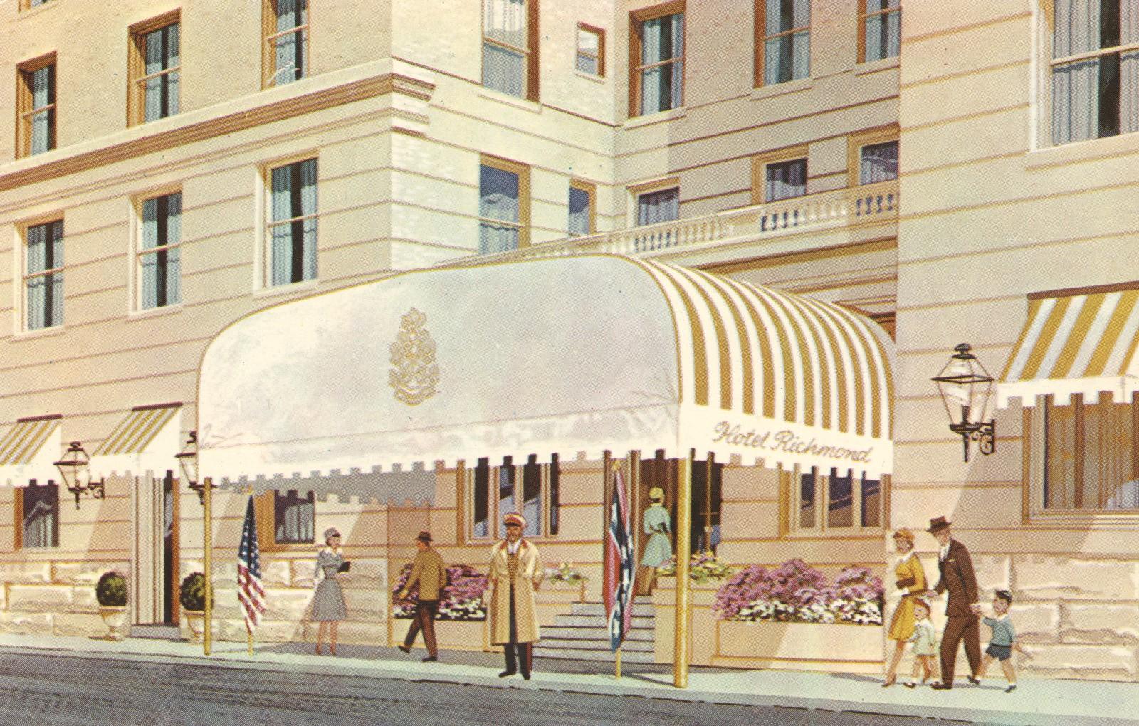 Hotel Richmond - Richmond, Virginia