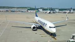 Boeing 737-8AS c/n 44778 Ryanair registration EI-FZE