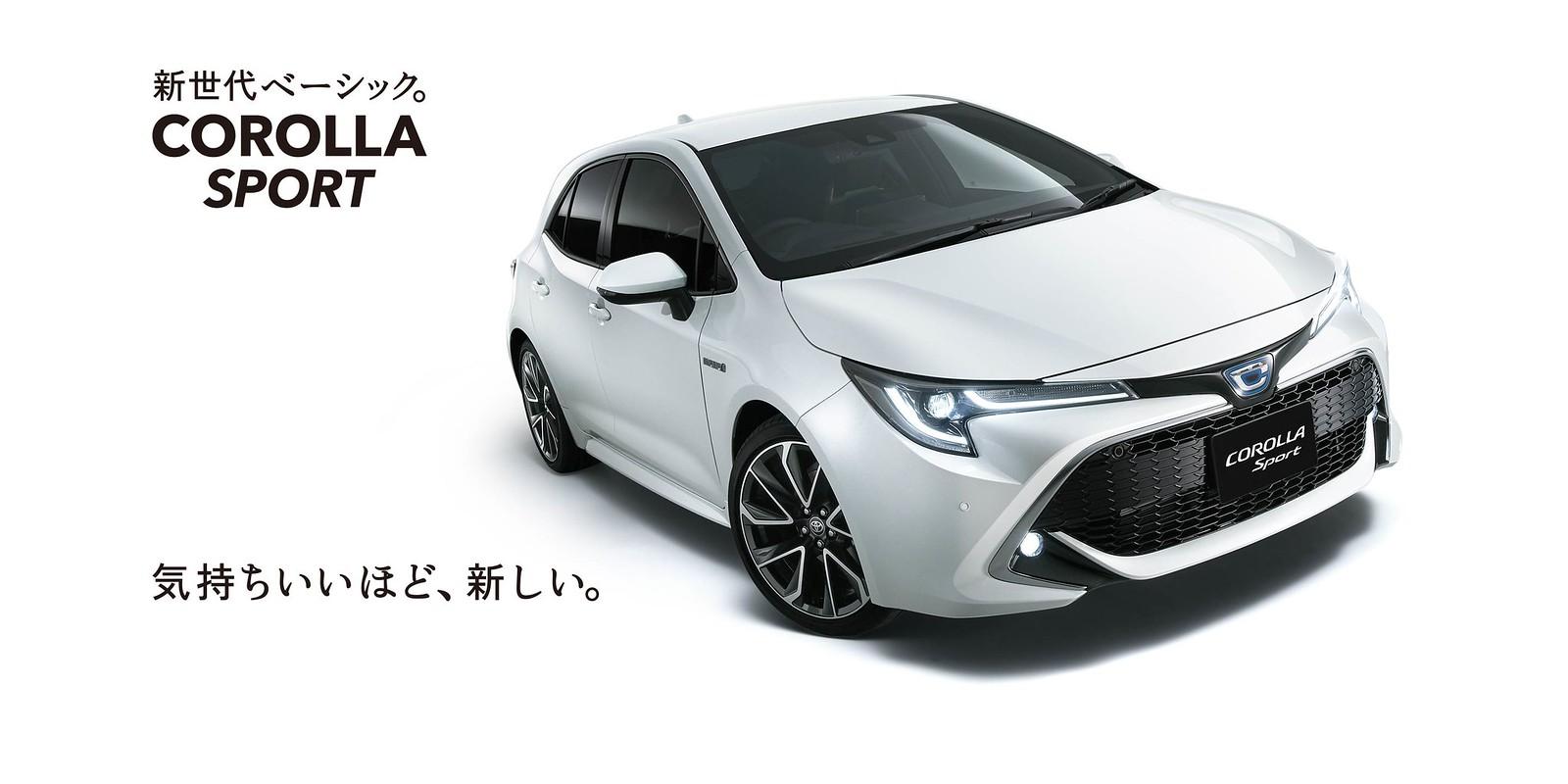 New Toyota Corolla Sport 2019