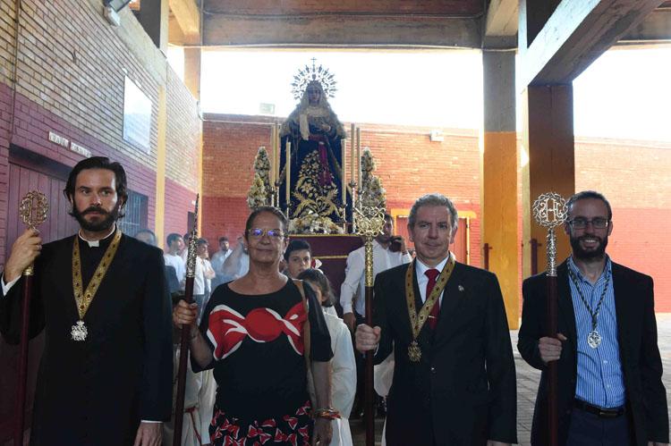 PLAZA DE TOROS TRASLADO DE LA VIRGEN ALA IGLESIA3