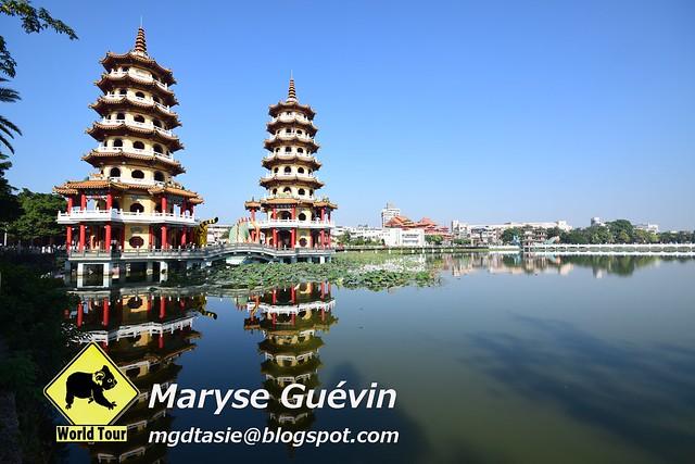 Kaohsiung, Lotus lake, Taiwan