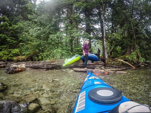 Kayaking on Baker Lake-138