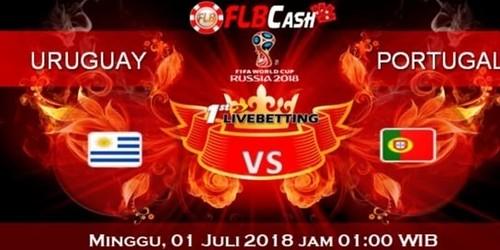 Prediksi Bola Piala Dunia – Uruguay vs Portugal, hari Sabtu, 1 Juli 2018