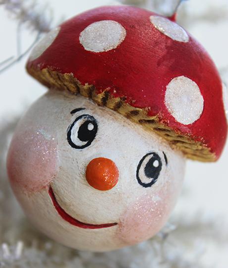 Mushroom Snowman 1