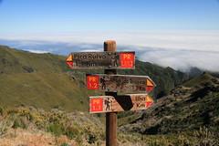 Madeira 2014 - 4.Tag, vom Pico Ruivo in Richtung Pico Arieiro