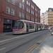 West Midlands Metro tram 30 on Stephenson Street, Birmingham