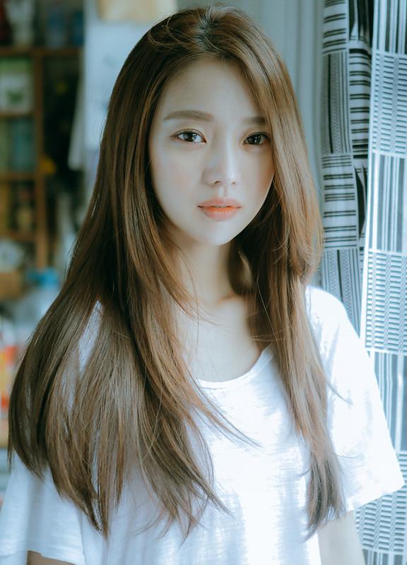 tóc dài suông