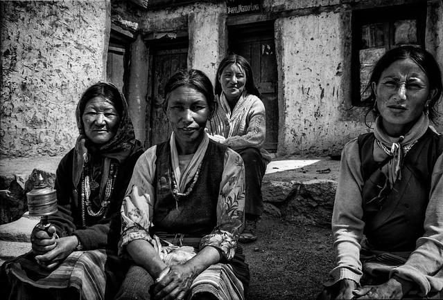 Women from Himalaya