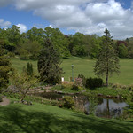 Ornamental Gardens in Avenham Park, Preston