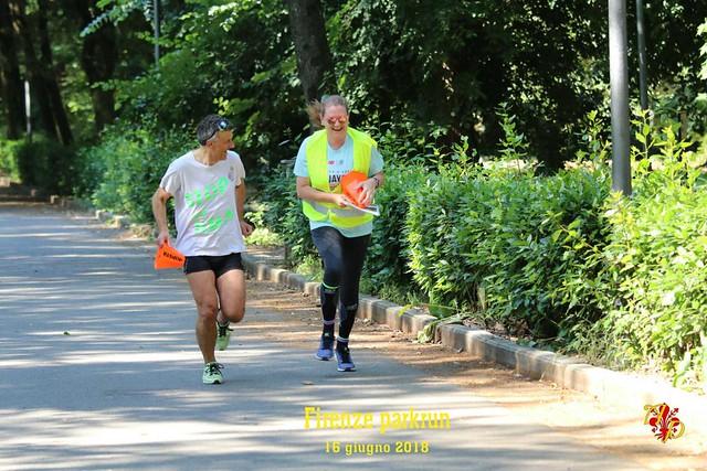 Firenze parkrun n. 38 - 16 Giugno 2018