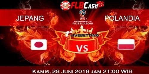 Prediksi Bola Piala Dunia – Jepang vs Polandia, hari Kamis, 28 Juni 2018
