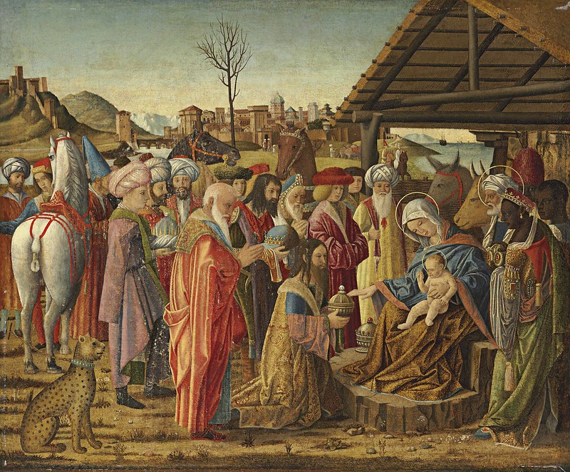 Marco Marziale - The Adoration of the Magi