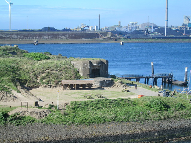 Fortress Island, IJmuiden, The Netherlands From the South