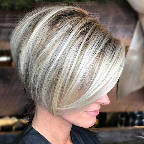 Classy Short Bob Haircuts 2018 For Women -Whatever shape your face? 2