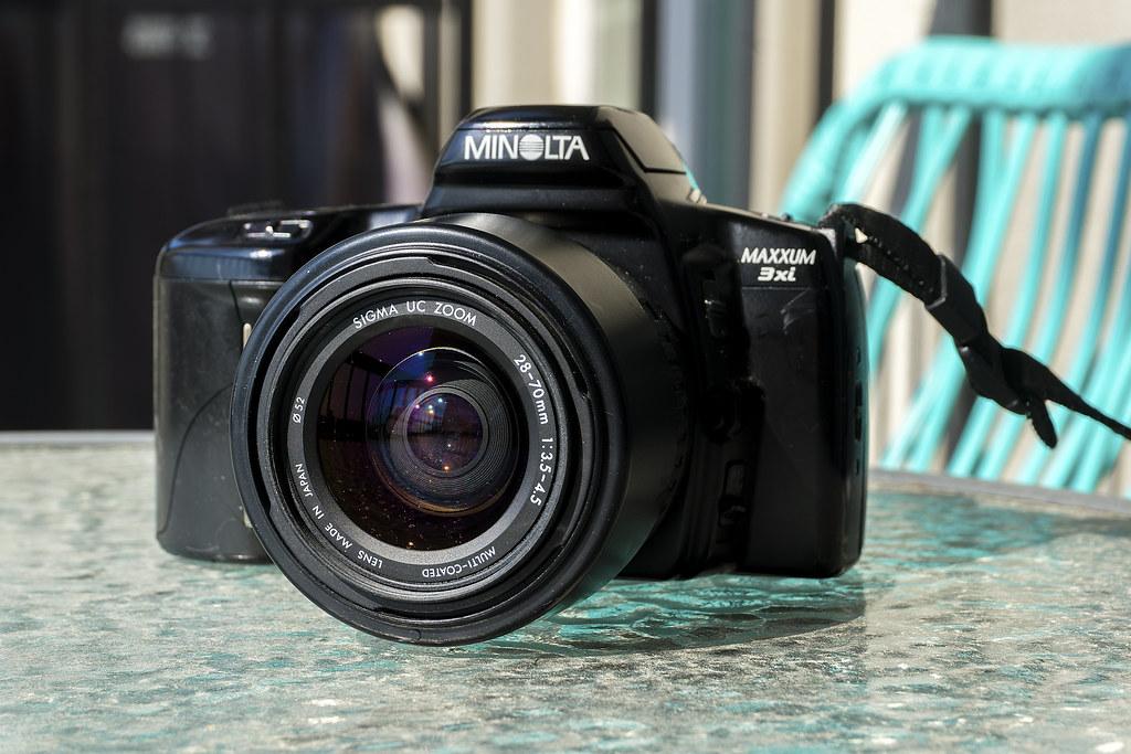 CCR Review 96 - Minolta Maxxum 3xi