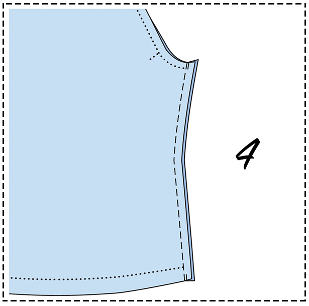 Sewing Lesson: Jersey Top #119 07/2018 – Sewing Blog