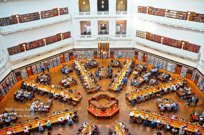 2017 Australia Melbourne Day 1 State Library of Victoria 1