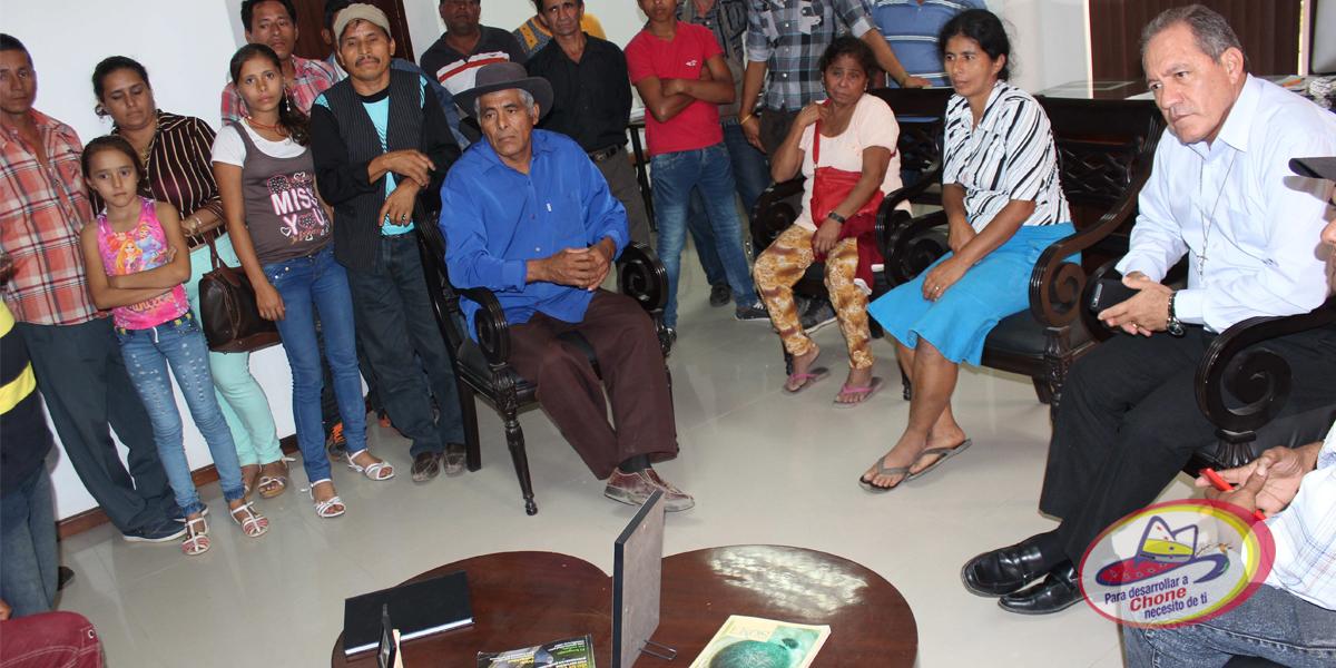 Alcalde se reunió con dirigentes rurales
