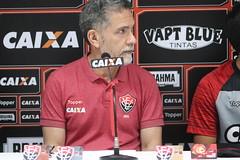 Apresentação - Bruno, Meli e Benitez - Fotos: Mauricia da Matta / EC Vitória