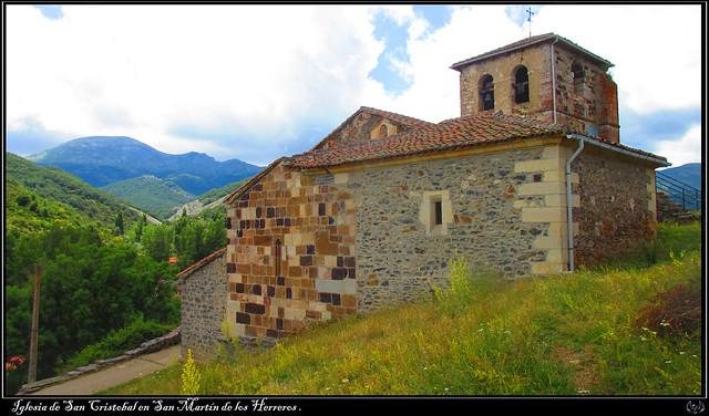 Iglesia de San Cristobal en San Martín de los Herreros 001