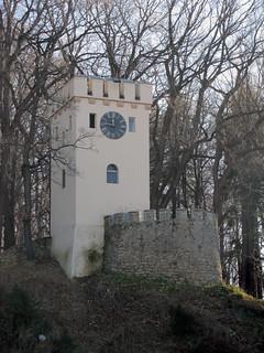 2010.11.14 - Szczawno-Zdrój / Park Zdrojowy im. Henryka Wieniawskiego oraz park leśny Wzgórze Gedymina A / Wieża Anna