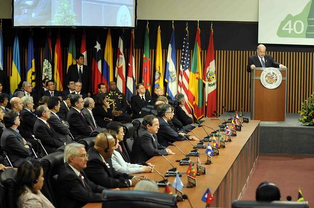 A OEA se posicionou pelo fim do governo de Daniel Ortega, reeleito com pouco mais de 70% para um mandato que termina em 2022 - Créditos: Divulgação