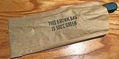 Brown is the new grren